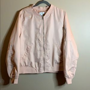 Forever 21 size 2X cute pink bomber jacket